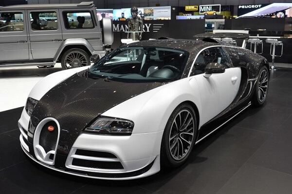 Bugatti Veyron Mansory Vivere Edição limitada