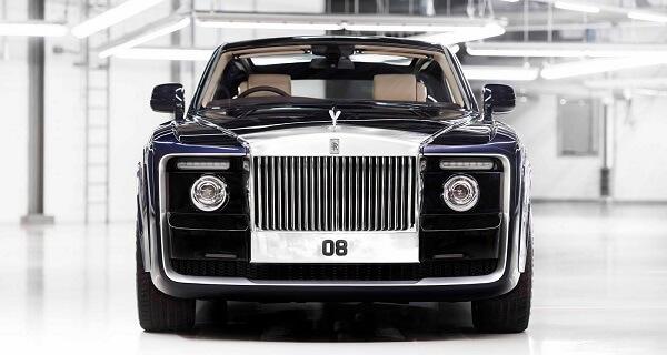 Rolls-Royce Sweptail personalizado