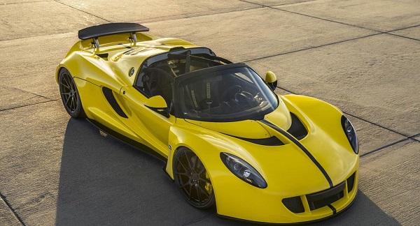 Hennessey Venom GT Spyder WRE