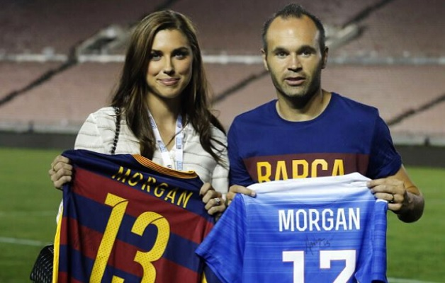 4 Alex Morgan 19