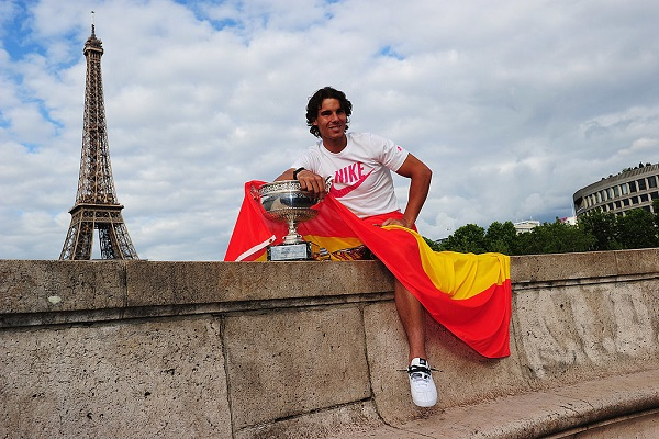 10 Grand Slam Nadal 12