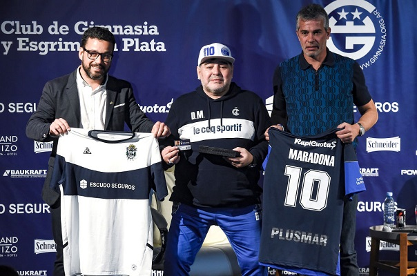 6 Maradona Gimnasia 1