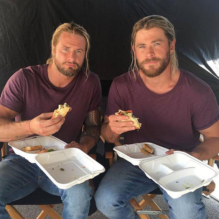 thor-stunt-double-having-lunch