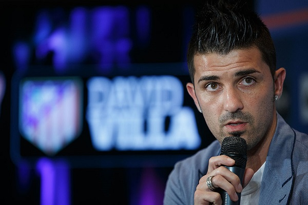 27 David Villa 19