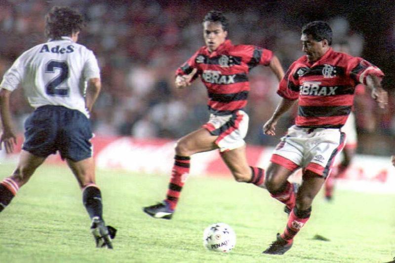 Flamengo forward and Brazilian soccer star Romario