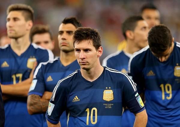 10 Messi Finales Perdidas 11