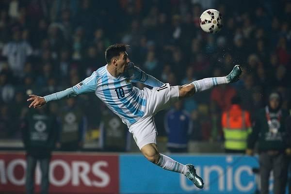 10 Messi Finales Perdidas 14