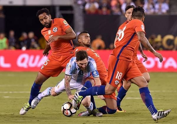 10 Messi Finales Perdidas 17