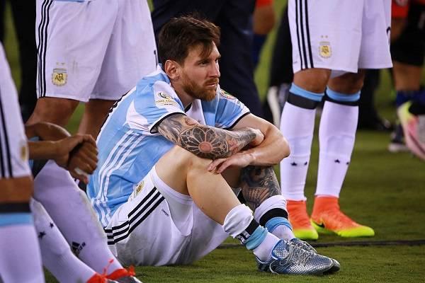10 Messi Finales Perdidas 18