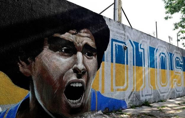 18 Homenajes Maradona 1