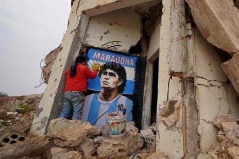 18 Homenajes Maradona 12