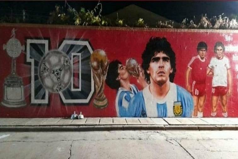 18 Homenajes Maradona 16