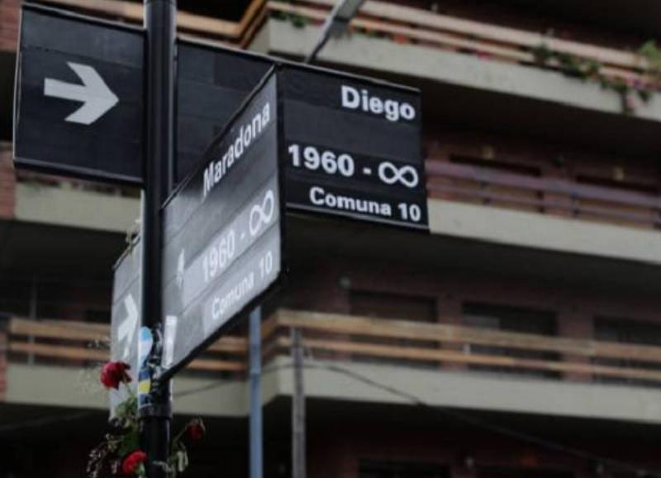 18 Homenajes Maradona 6