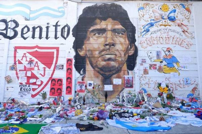 18 Homenajes Maradona 9