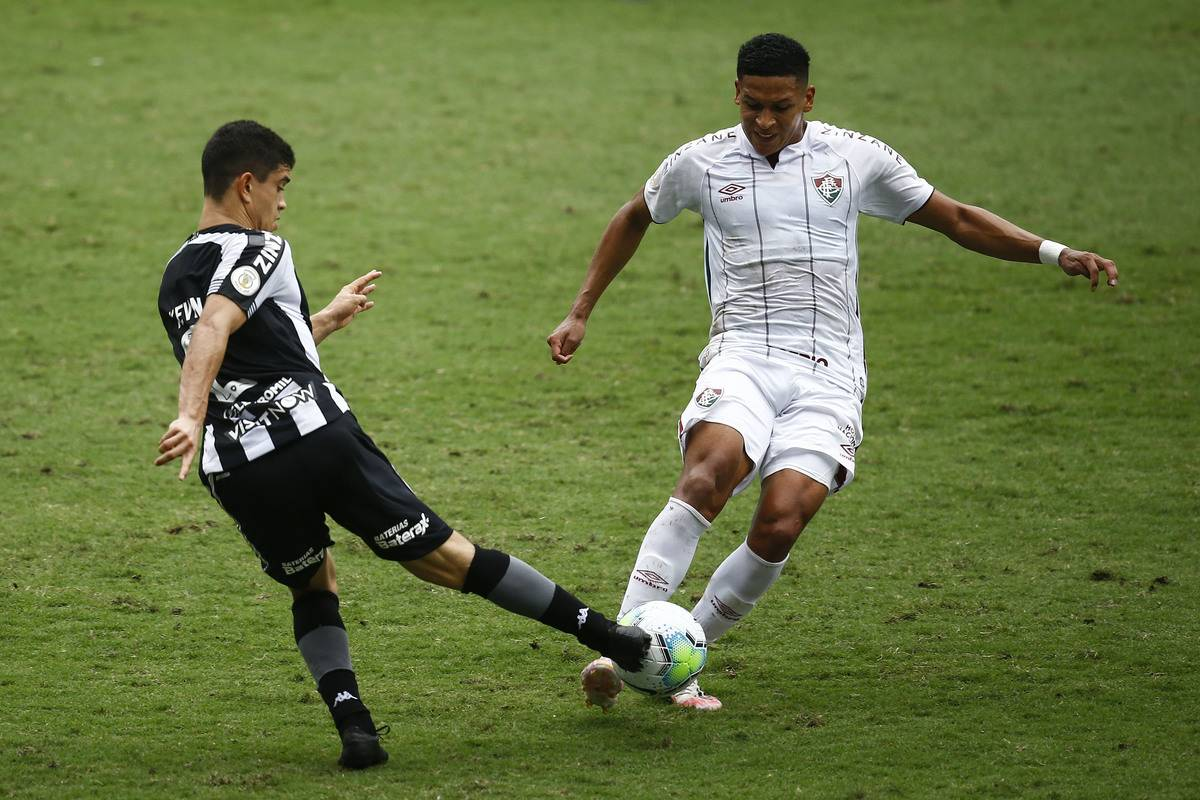 2020 Brasileirao Series A: Botafogo v Fluminense Play Behind Closed Doors Amidst the Coronavirus (COVID - 19) Pandemic