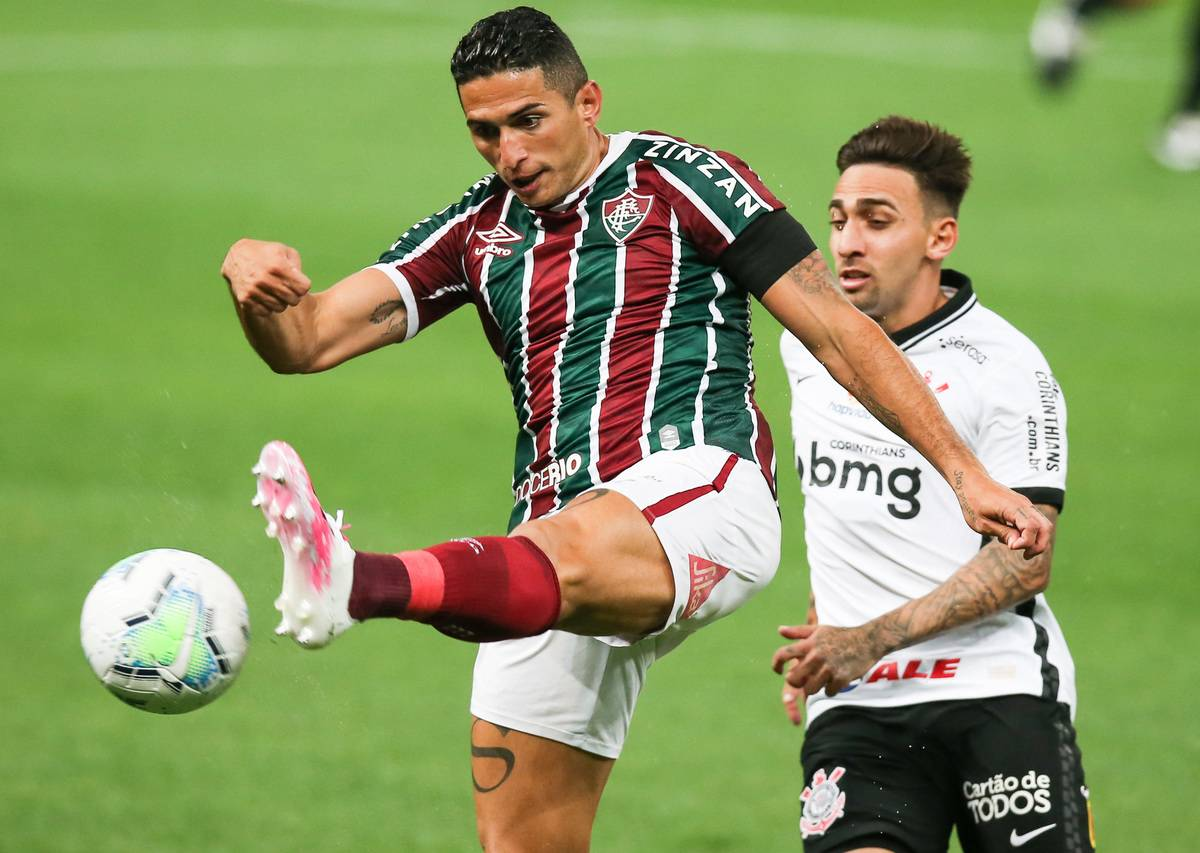 2020 Brasileirao Series A: Corinthians v Fluminense Play Behind Closed Doors Amidst the Coronavirus (COVID - 19) Pandemic