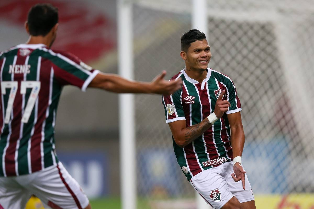 2020 Brasileirao Series A: Fluminense v Atletico GO Play Behind Closed Doors Amidst the Coronavirus (COVID - 19) Pandemic
