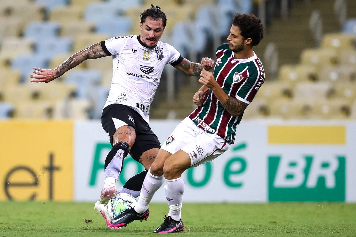 2020 Brasileirao Series A: Fluminense v Ceara Play Behind Closed Doors Amidst the Coronavirus (COVID - 19) Pandemic
