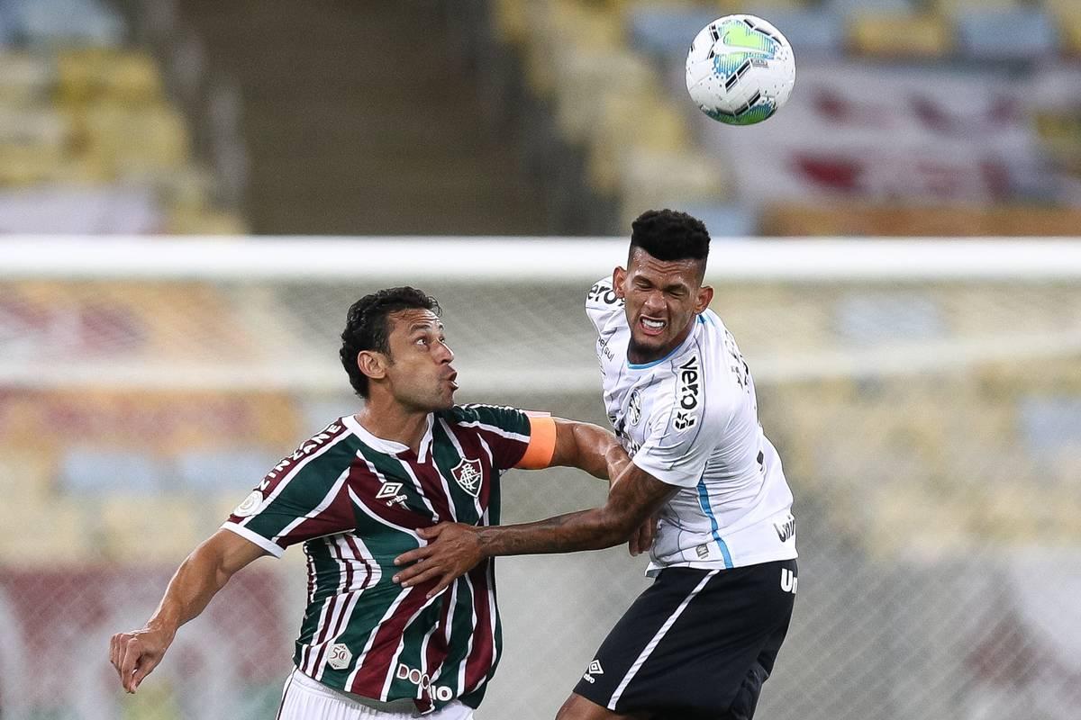2020 Brasileirao Series A: Fluminense v Gremio Play Behind Closed Doors Amidst the Coronavirus (COVID - 19) Pandemic