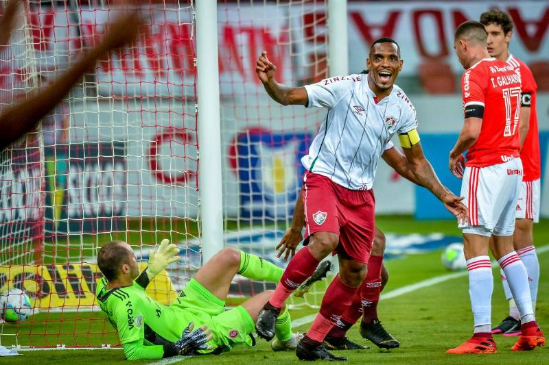 2020 Brasileirao Series A: Internacional v Fluminense Play Behind Closed Doors Amidst the Coronavirus (COVID - 19) Pandemic