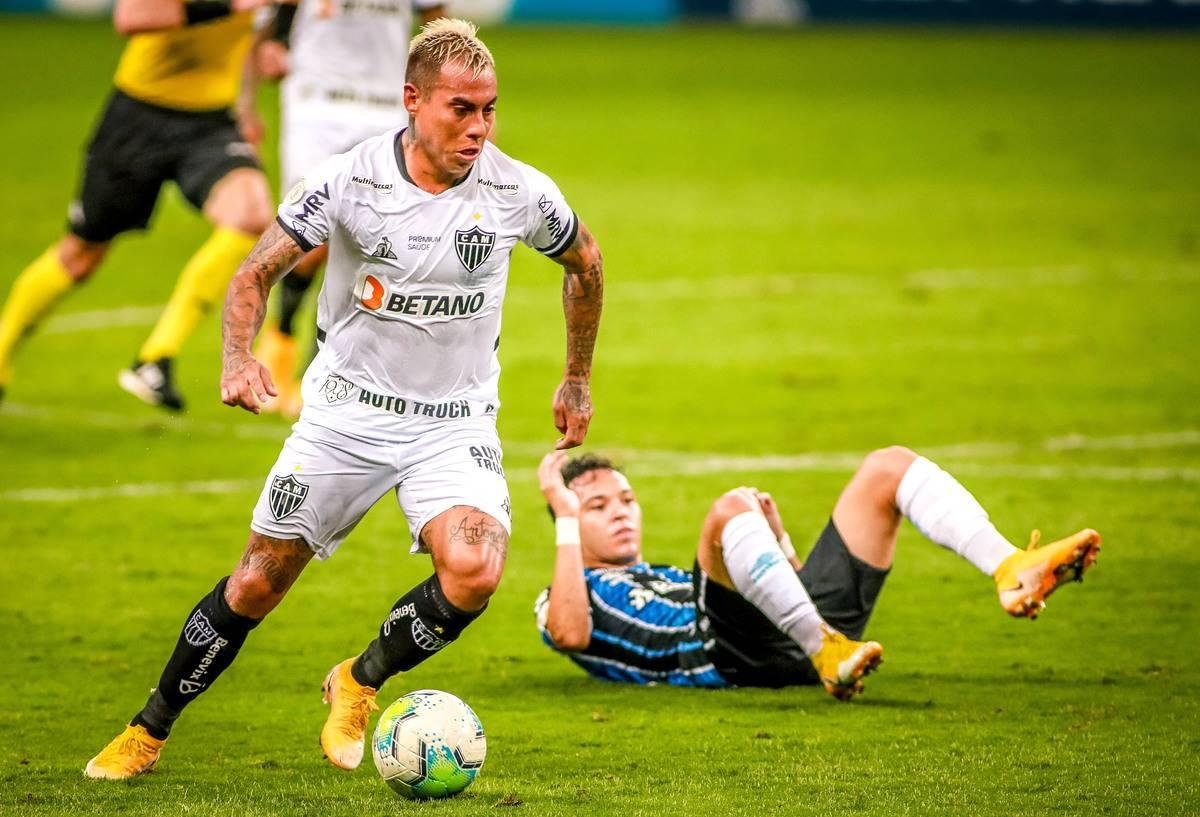 2020 Brasileirao Series A: Gremio v Atletico MG Play Behind Closed Doors Amidst the Coronavirus (COVID - 19) Pandemic