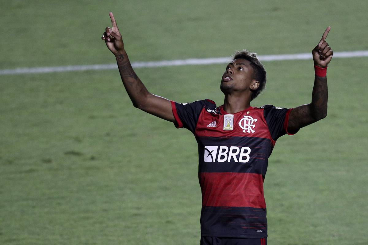 Brasileirao Series A: Sao Paulo v Flamengo Play Behind Closed Doors Amidst the Coronavirus (COVID - 19) Pandemic