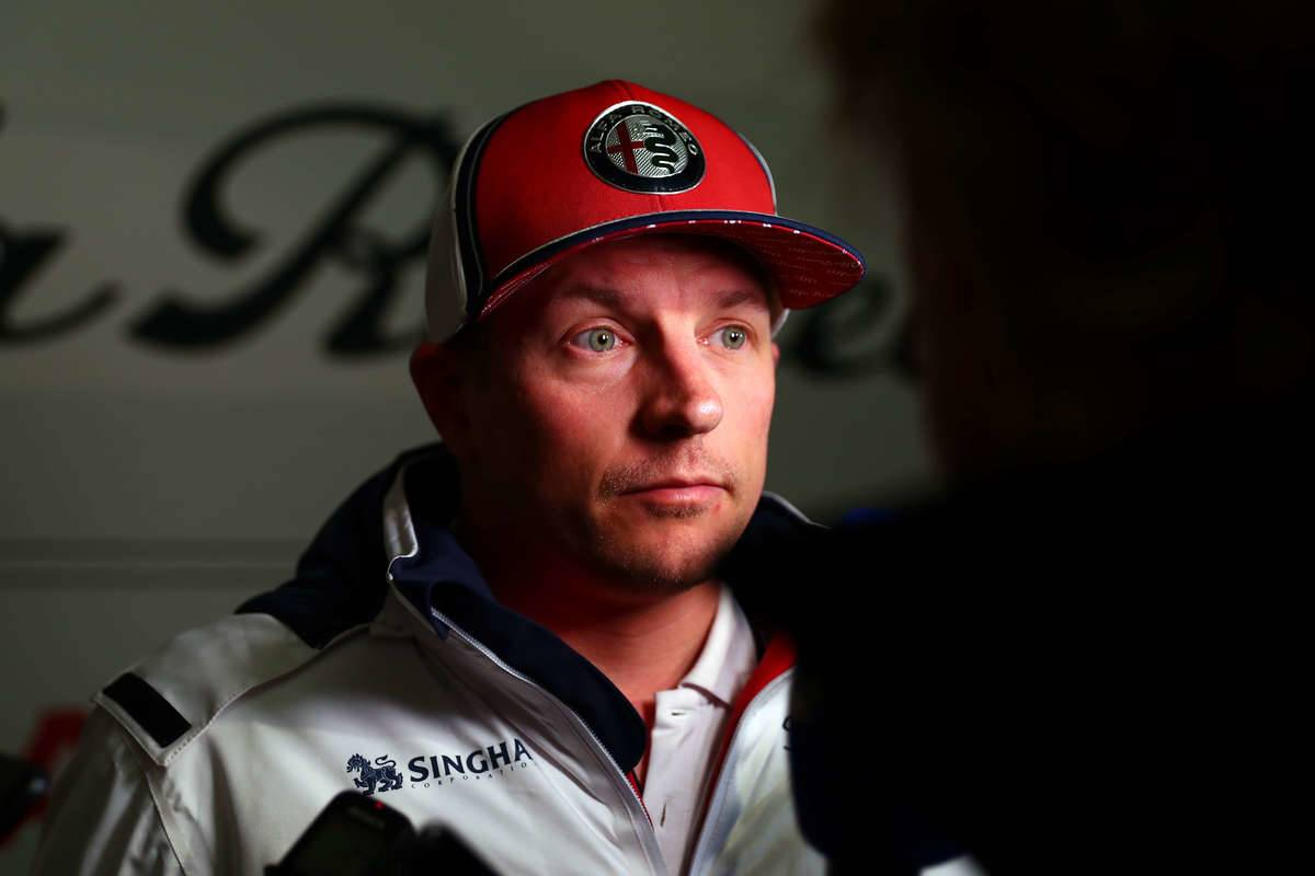Kimi Raikkonen of Finland and Alfa Romeo Racing during day...