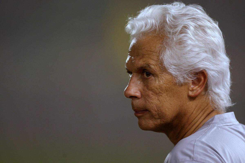 The Brazilian coach of Qatar's Al-Sadd C
