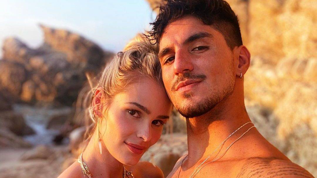 Yasmin Brunet e Gabriel Medina