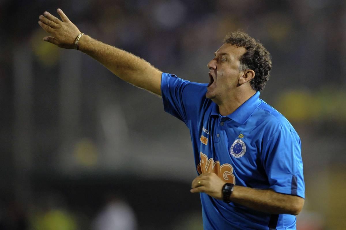 Cuca, head coach of Brazil's Cruzeiro gi