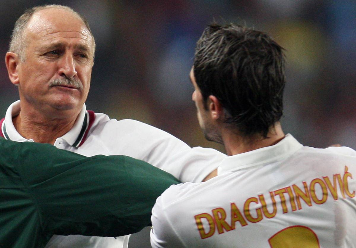 Portugal's Brazilian coach Luiz Felipe S
