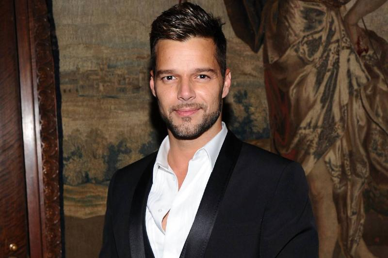 Singer Ricky Martin attends the 2010 amfAR New York Inspiration Gala at The New York Public Library on June 3, 2010 in New York, New York