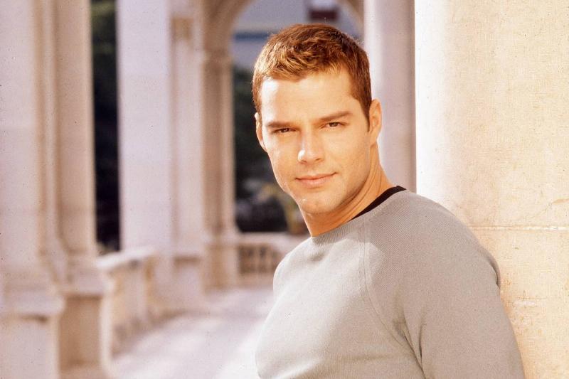 Puerto Rican pop singer Ricky Martin, 1997