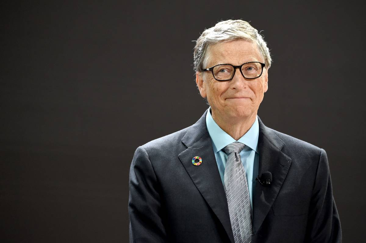 Bill & Melinda Gates Foundation co-founder Bill Gates speaks speaks at Goalkeepers 2017, at Jazz at Lincoln Center on September 20, 2017 in New York City
