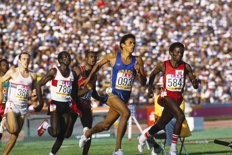 Athletics - Joaquim Cruz