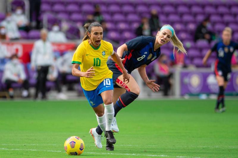 Brazil v USWNT