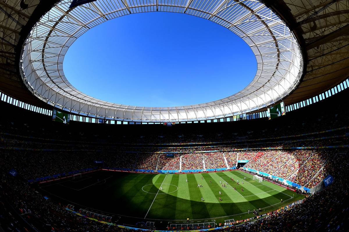 Estádio Nacional de Brasília Mané Garrincha - estádios pouco usados