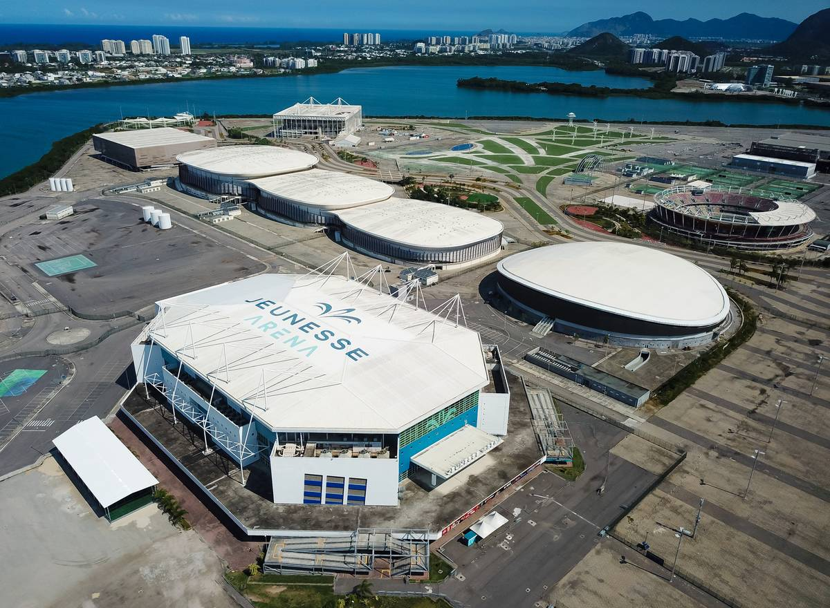 Aerial Views of the Rio 2016 Olympic Park Amidst the Coronavirus (COVID - 19) Pandemic