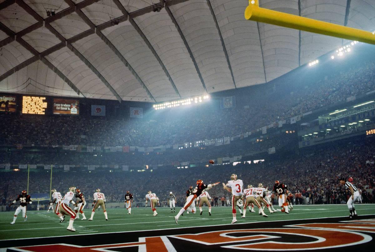 Super Bowl XVI Detroit