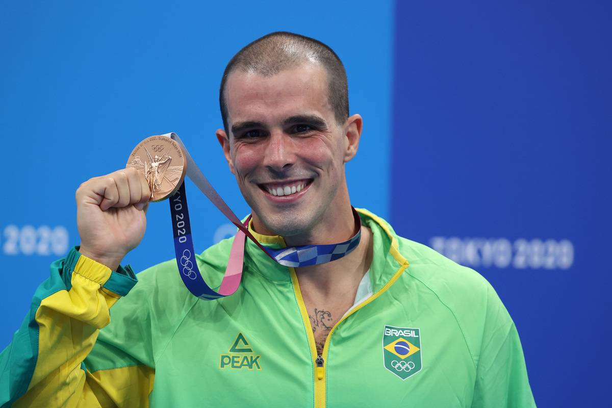Swimming - Olympics: Day 9