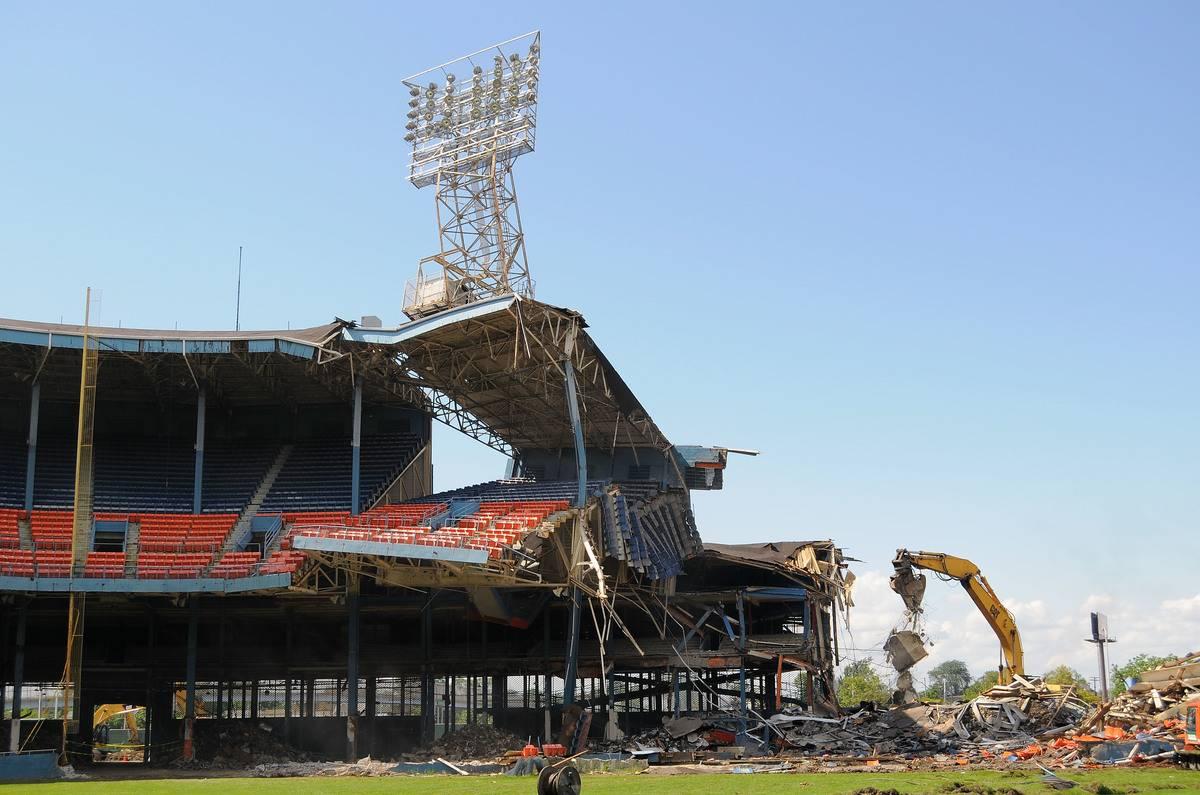 Tiger Stadium Demolition