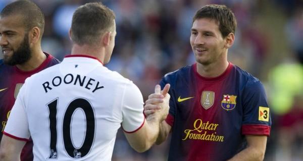 Rooney y Messi
