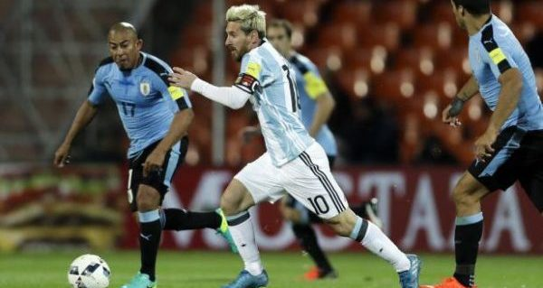 15.1 messi gol a uruguay