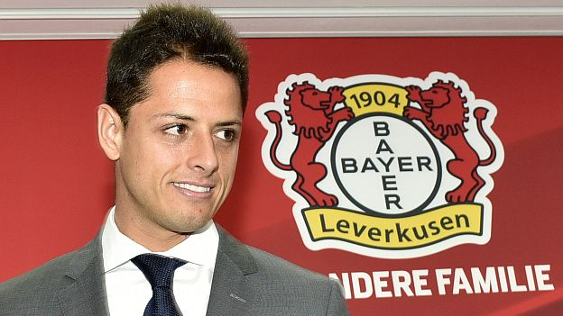 Germany Soccer Bundesliga Leverkusen Chicharito