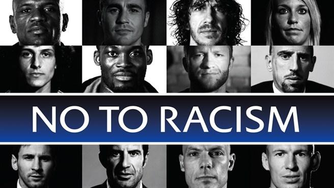 La UEFA contra el racismo