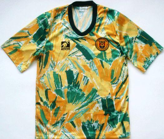 7) Selección de Australia (1990):