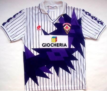 5) Fiorentina (1991-92):