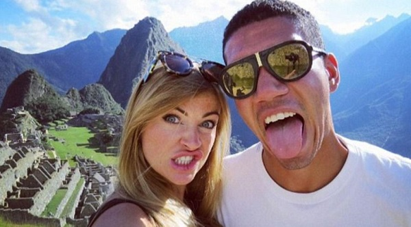 Chris Smalling y Sam Cooke