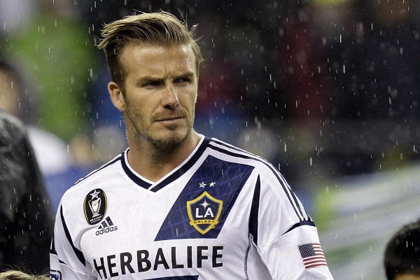 MLS Beckham Finale Soccer