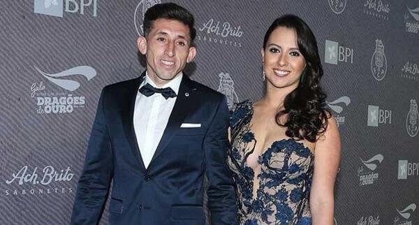 Héctor Herrera e Chantal Mato